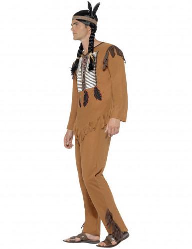Déguisement indien avec franges homme-1