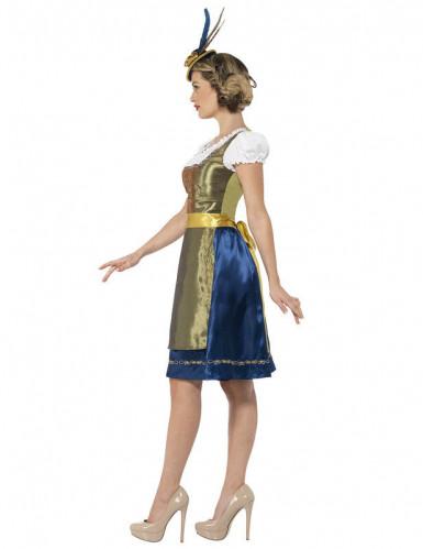 Déguisement bavaroise luxe femme-1