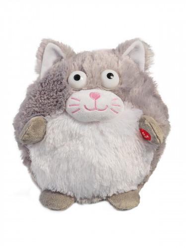 Peluche chat sonore et animée 18,5cm