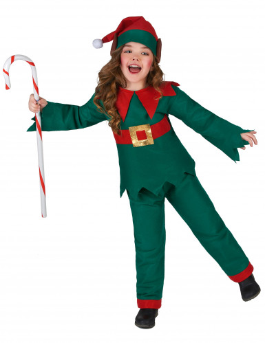 Déguisement elfe de Noël enfant-1