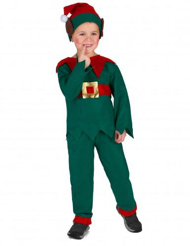 Déguisement elfe de Noël enfant-2