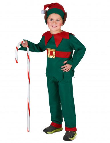 Déguisement elfe de Noël enfant-3