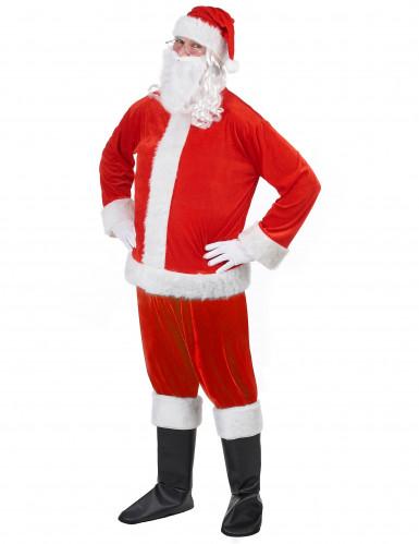 Kit déguisement Père Noël adulte-1