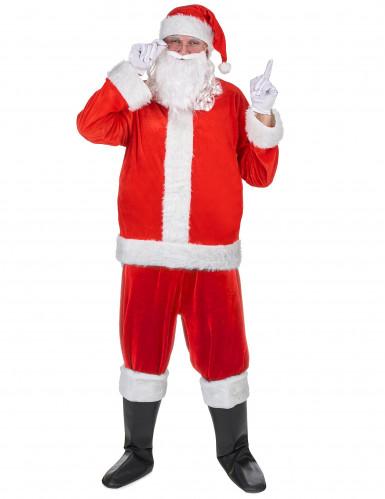 Kit déguisement Père Noël adulte-2