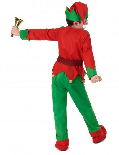 Déguisement complet elfe de Noël enfant-3