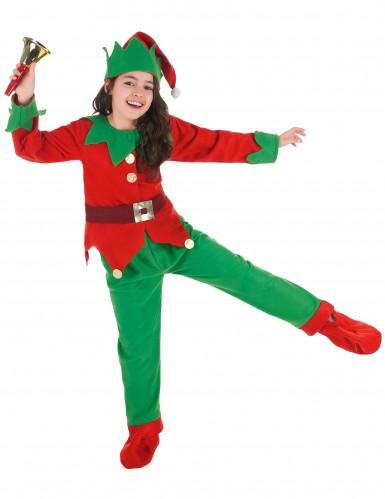 Déguisement Complet Elfe de Noël Enfant-4