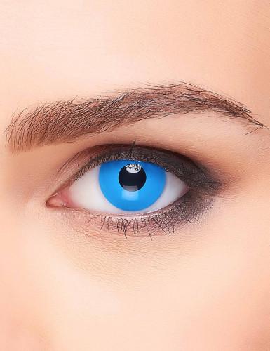 Lentilles fantaisie oeil bleu 3 mois adulte