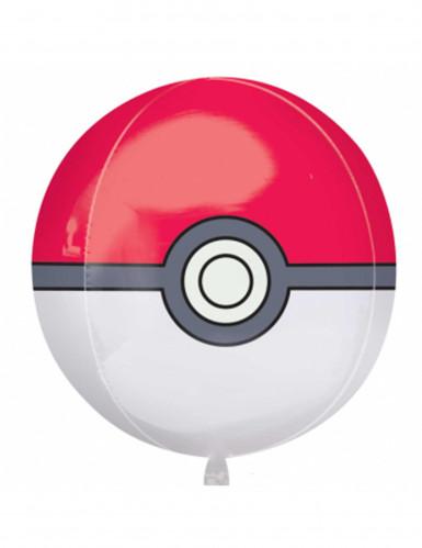 Ballon Aluminium Poké Ball Pokémon 38 X 40 Cm