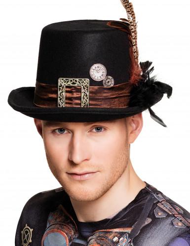 Chapeau haut de forme adulte Steampunk