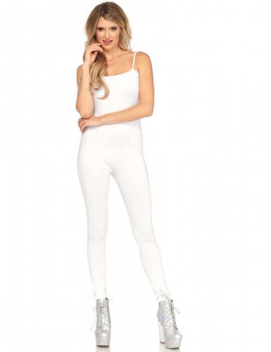 Combinaison body blanche femme