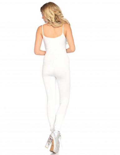 Combinaison body blanche femme-1