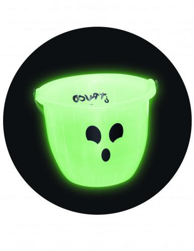Seau à bonbons phosphorescent