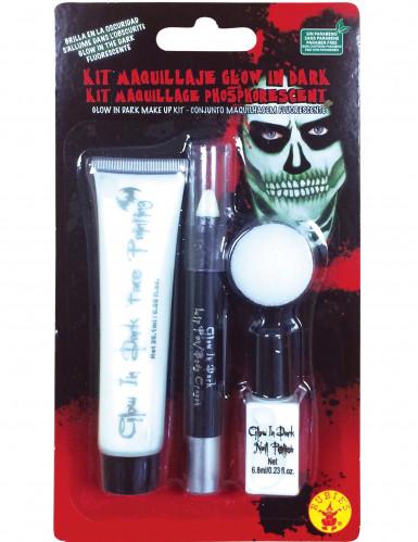 Kit de maquillage phosphorescent adulte