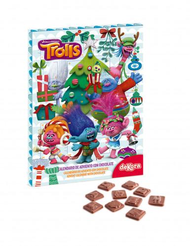 Calendrier de l'avent au chocolat Trolls™