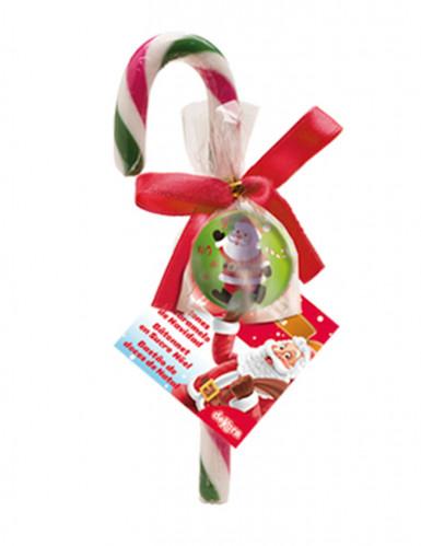 Sucre d'orge Noël avec balle rebondissante