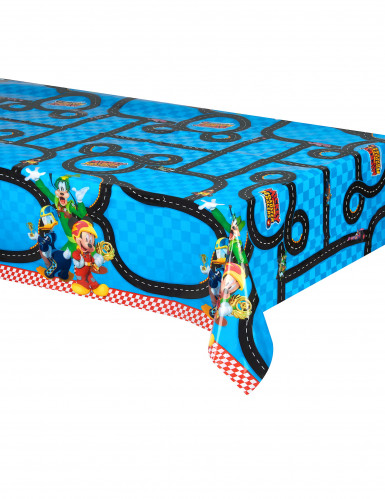 Nappe plastique 120x180cm Mickey & Donald Racing ™