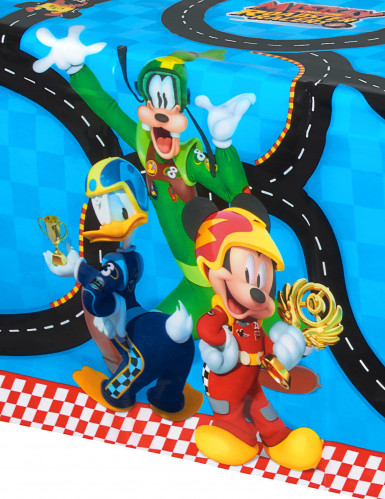 Nappe plastique 120x180cm Mickey & Donald Racing ™-1