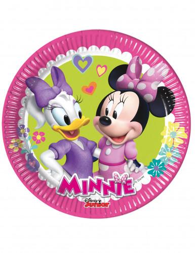 8 Petites assiettes Minnie Happy ™