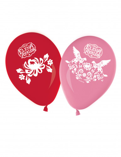 8 Ballons en latex Elena d'Avalor ™