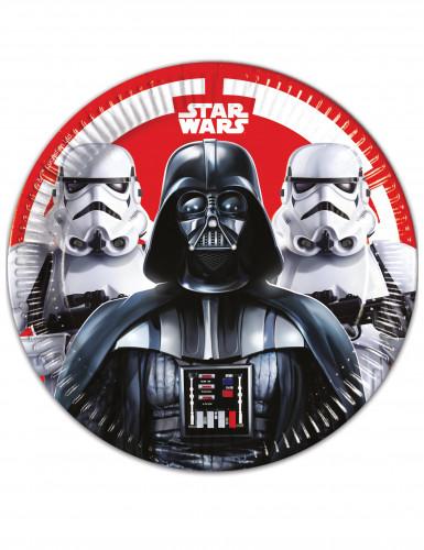 8 Assiettes en carton 23cm Star Wars Final Battle ™
