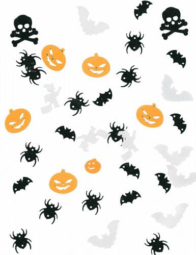 Confettis de tables décors Halloween