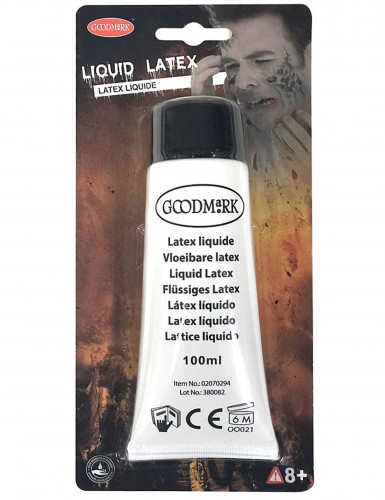 Maquillage latex liquide blanc 100 ml