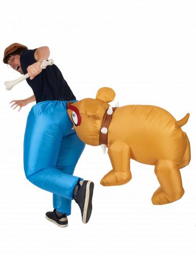 Déguisement Bulldog gonflable adulte-2
