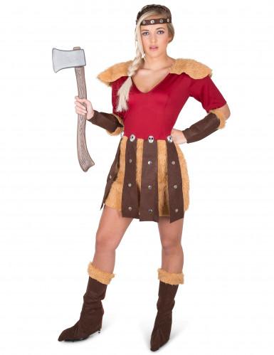 Déguisement Viking aux dragons femme