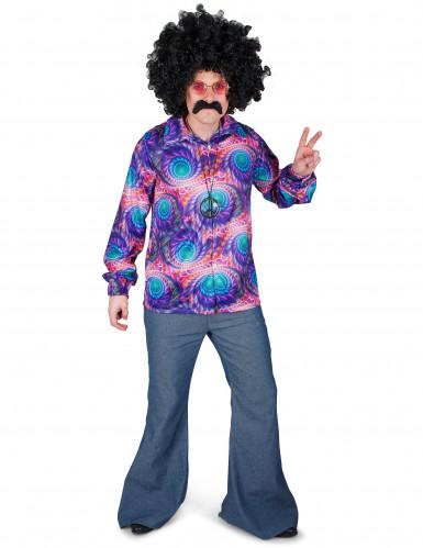 Chemise hippie psychédélique homme