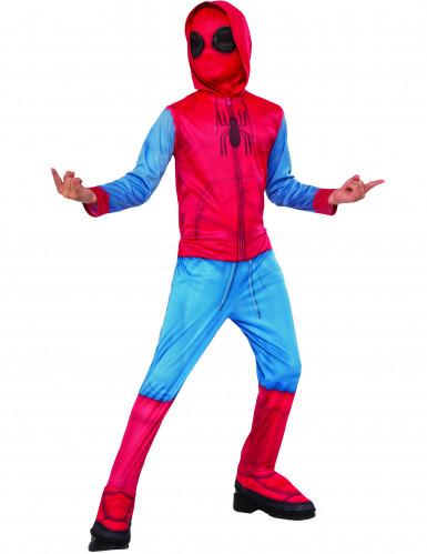 Déguisement classique Spider-Man Homecoming ™ avec couvre-bottes enfant