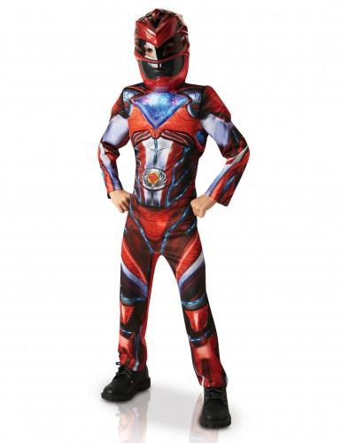 Déguisement luxe Power Rangers™ rouge enfant - Le film