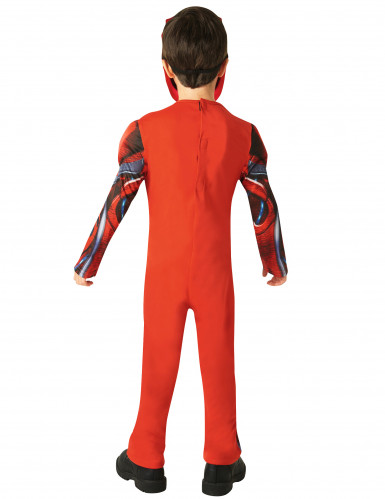 Déguisement luxe Power Rangers™ rouge enfant - Le film-2