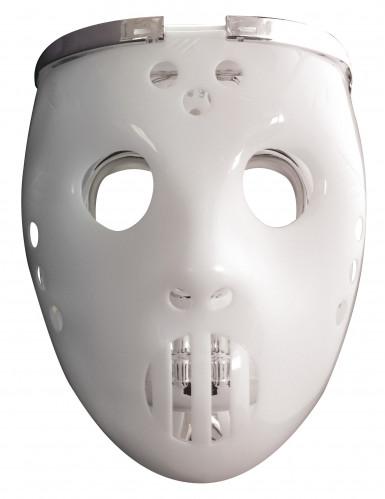 Masque 2 en1 lumimeux joueur de hockey adulte