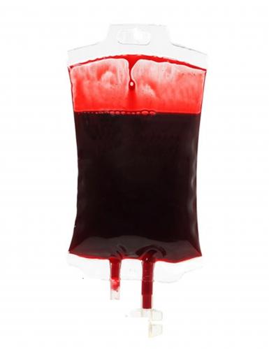 Décoration poche de sang Halloween