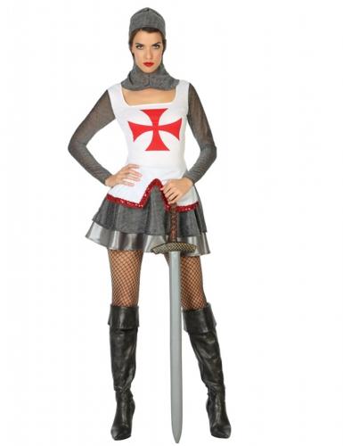 Déguisement chevalière médiévale femme