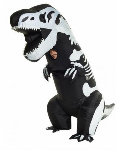 Déguisement gonflable squelette T-rex adulte Morphsuits™