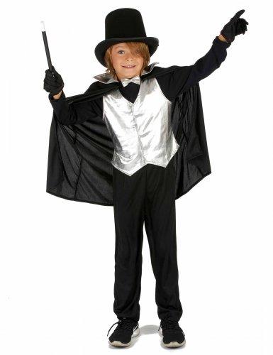 Déguisement Magicien Argent Garçon