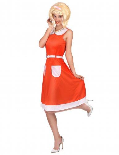Déguisement Rétro Vintage 50's 60's Femme-1