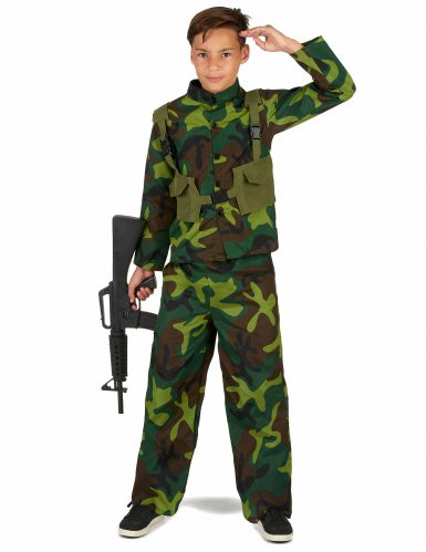 Déguisement de Militaire garçon