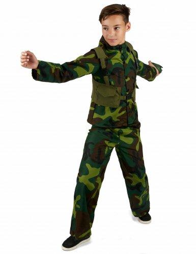 Déguisement de Militaire garçon-1