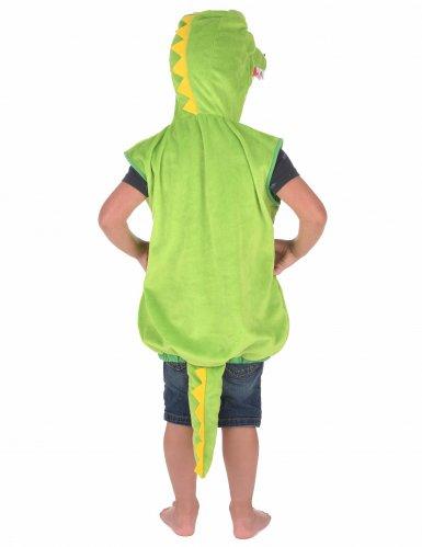 Déguisement crocodile rembourré enfant-2