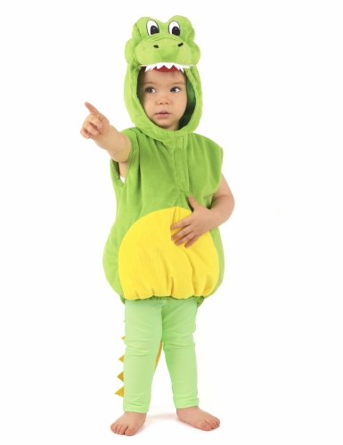 Déguisement crocodile rembourré enfant-4