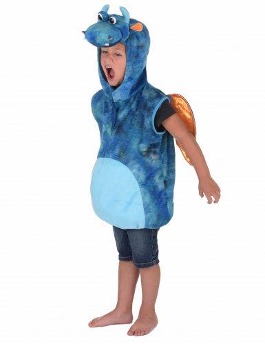 Déguisement dragon bleu et orange enfant-1