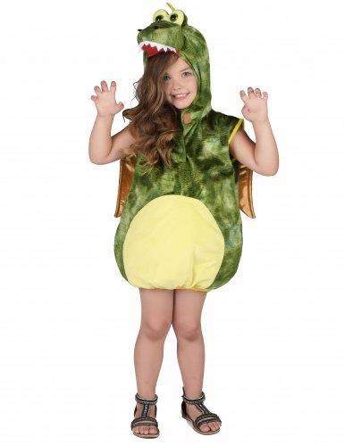 Déguisement dinosaure vert enfant