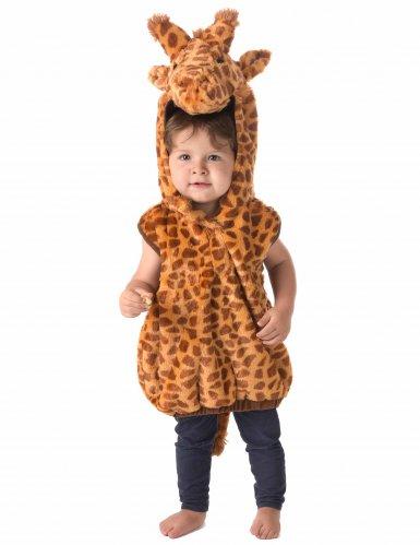 Déguisement girafe sans manches enfant-1