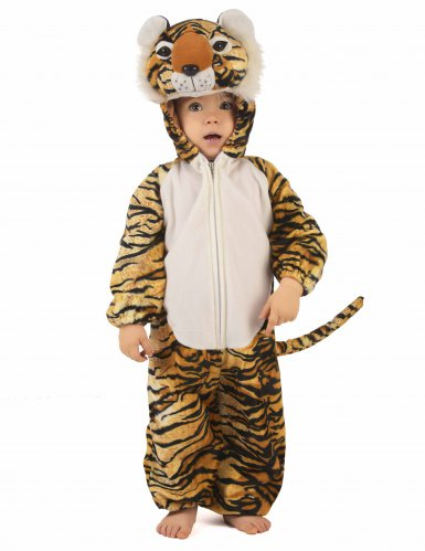 Déguisement tigre réaliste enfant