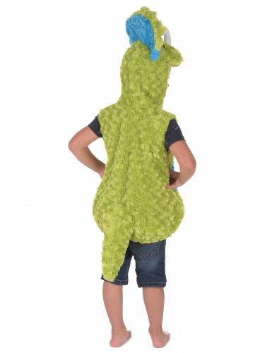 Déguisement dinosaure vert et bleu enfant-2