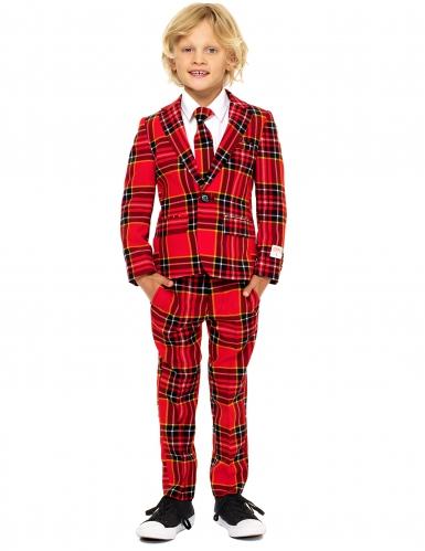 Costume Mr. Tartan rouge écossais enfant Opposuits™