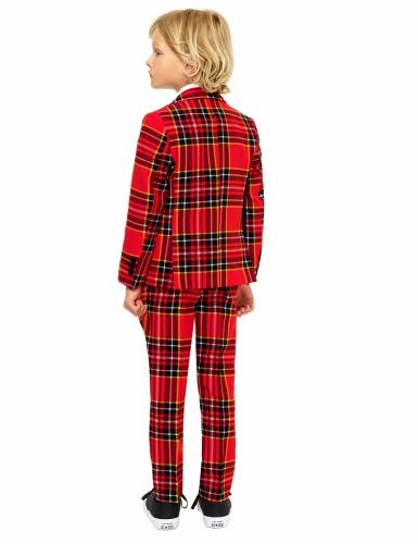Costume Mr. Tartan rouge écossais enfant Opposuits™-1