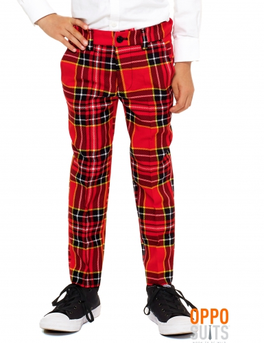 Costume Mr. Tartan rouge écossais enfant Opposuits™-2